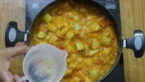 Potato gravy -water