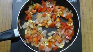 Mushroom green peas masala -soft