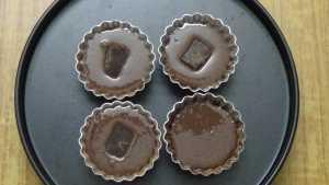Choco lava cake -fill chocs