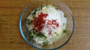 Cabbage pakoda -combine