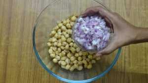 Falafel -onion