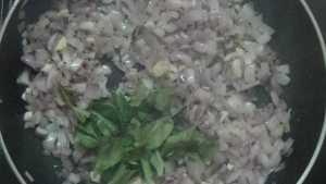 Karuvadu thokku -curry leaves