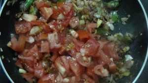 Karuvadu thokku -tomato