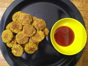 Falafel -baked