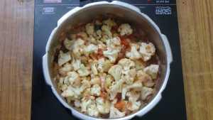 Cauliflower pepper masala -mix