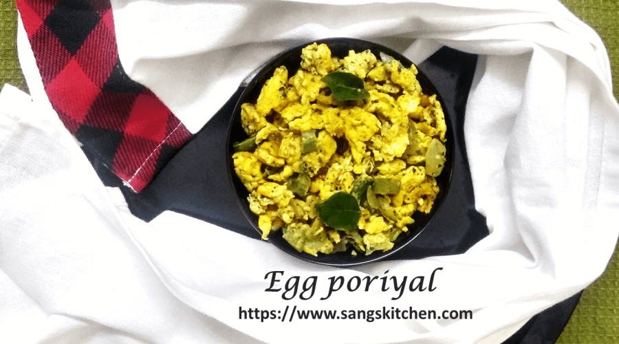 Egg poriyal -feature