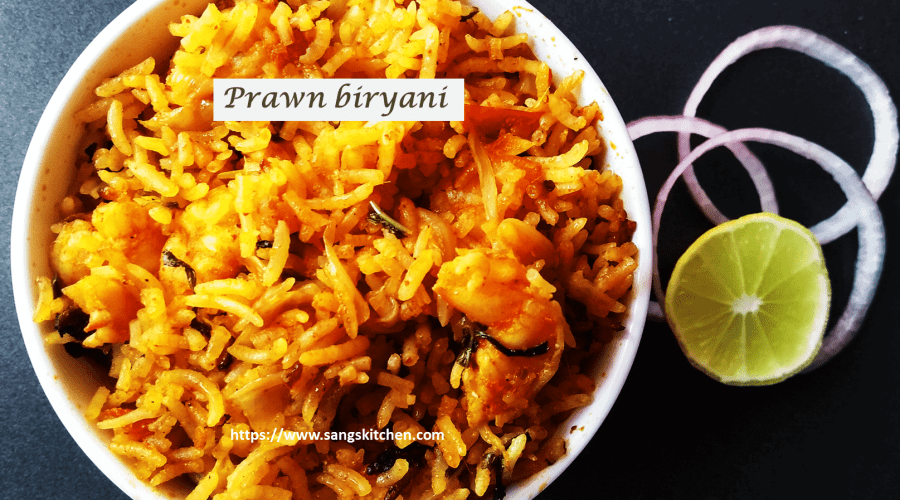 Prawn biryani -feature