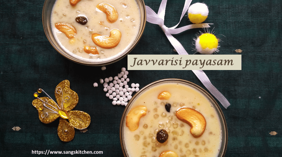 Javvarisi payasam -feature