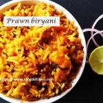 Prawn biryani -thumbnail