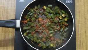 Bhindi masala -