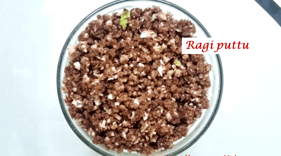 Ragi puttu -feature