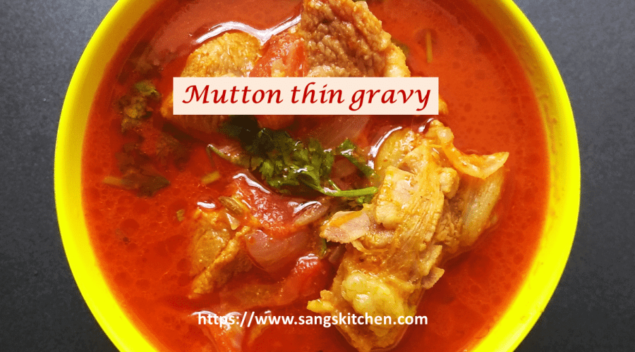 Mutton thin gravy -feature