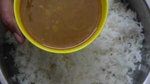 Varutha puli sadam -mix in rice