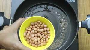 Raw mango rice -raw peanuts