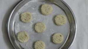 Coconut cookies -bake