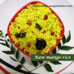 Raw mango rice -thumbnail