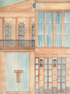 Titelbild des Kalenders für das Gerhart Hauptmann Theater