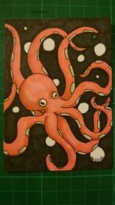 3 Marker Challenge: Octopus
