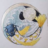 The Koi and the Moon