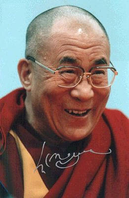 ... Dalai Lama a beneficio di tutti gli esseri senzienti. » 2 Dalai Lama