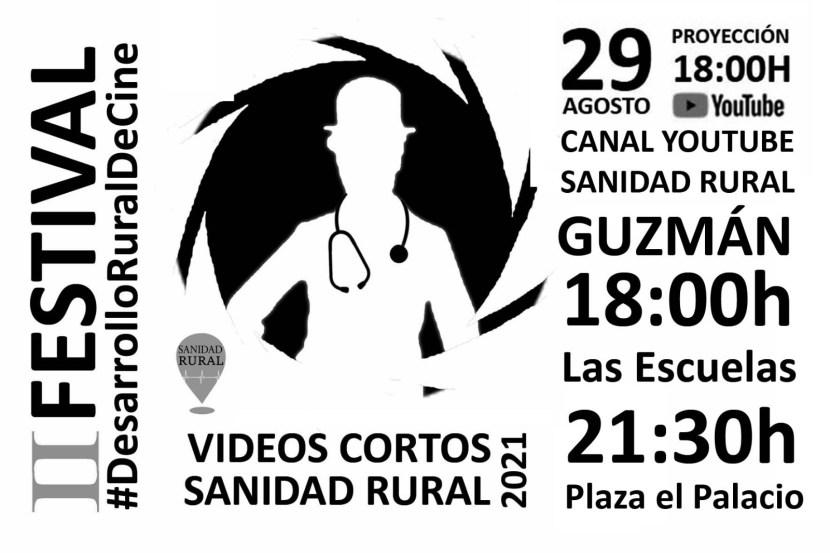 Cartel del festival desarrollo rural de cine 2021