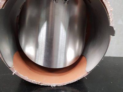 Rat Stopper 6in in pipe front