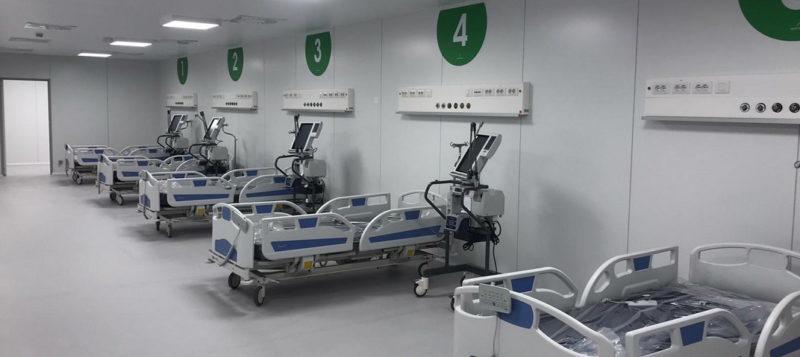 Gallera, nasce l'ospedale antiCovid
