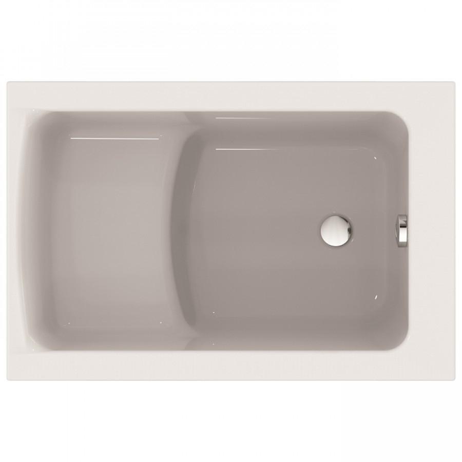 baignoire nue rectangulaire sabot connect air 105x70 cm