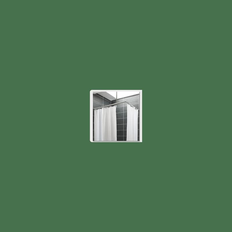 rideaux de douche polyester leste delabie 60586
