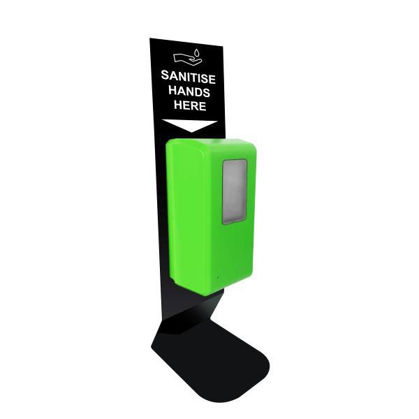 Desktop Automatic Green Hand Sanitiser Station