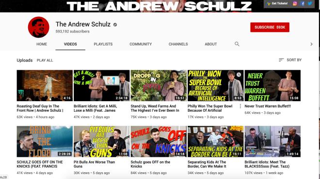 Andrew Schulz Hustle