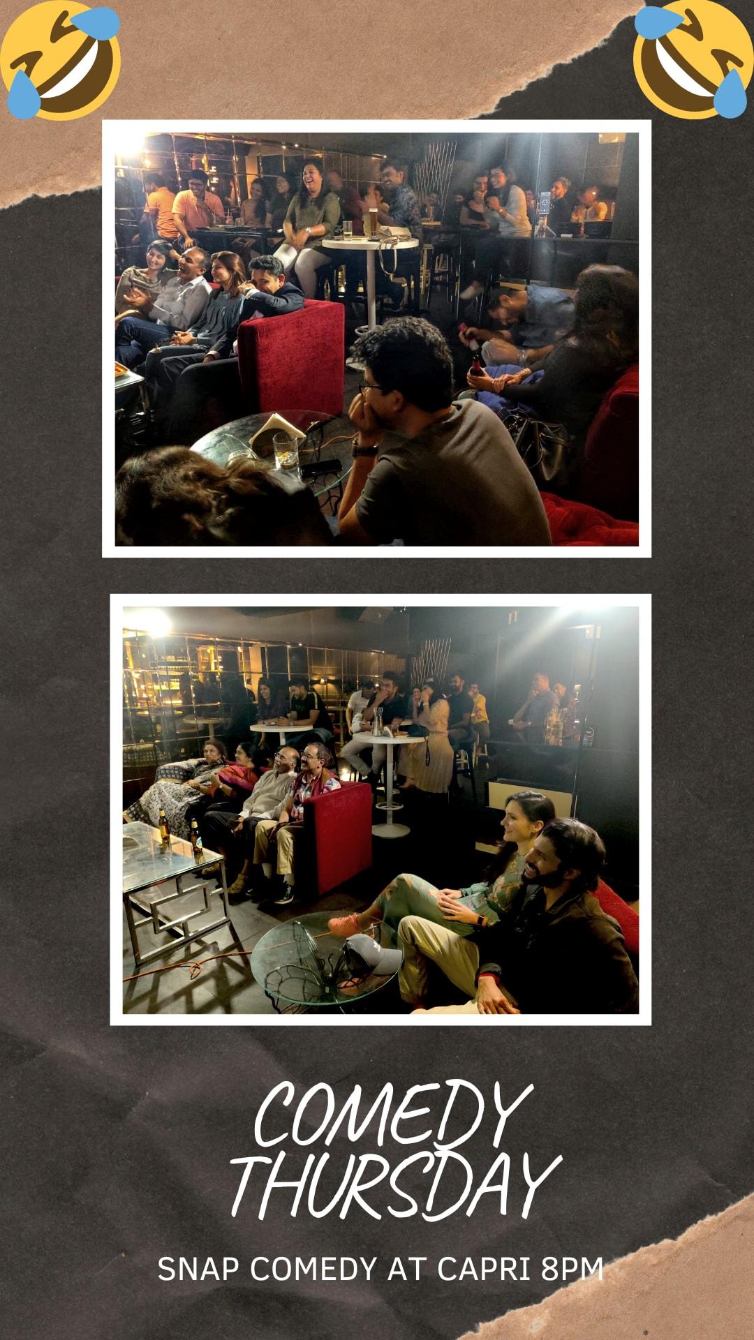 bangalore comedy thursdsay night
