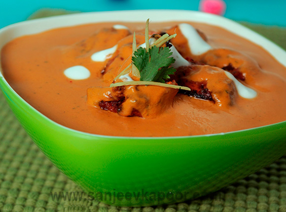 Butter chicken recipe by sanjeev kapoor all about qatar butter chicken recipe card forumfinder Image collections