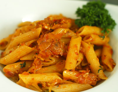 Penne Arrabiata Vegetarian Recipe By Master Chef Sanjeev