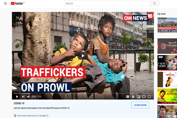 Child Trafficking On Rise Amidst Lockdown, 34 Children Rescued
