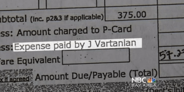 Vartanian Expense