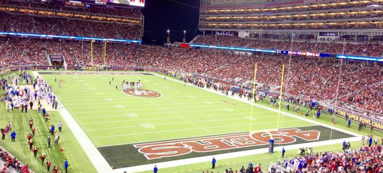 3ec0fdd0e All eyes will be on Levi s Stadium and the city of Santa Clara when Super  Bowl 50 rolls into town. (Photo courtesy of Carl Foisy)