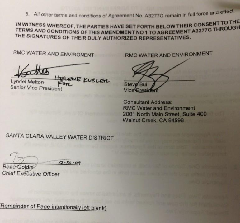 Amendment 1 Signature