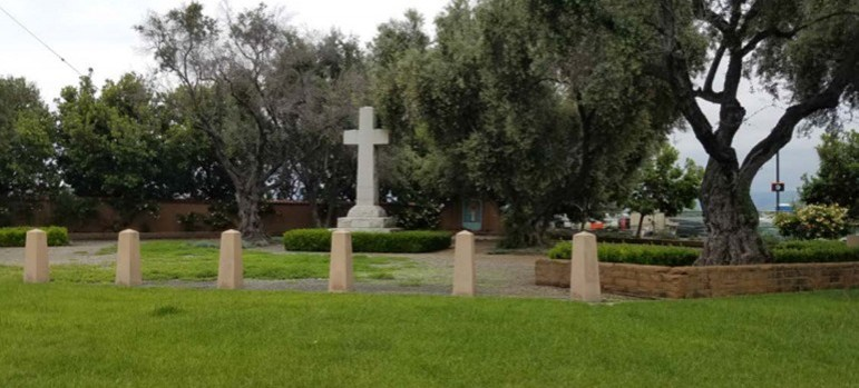 An atheist has sued the city of Santa Clara to dismantle a Christian cross from a public park. (Photo via Freedom From Religion Foundation)