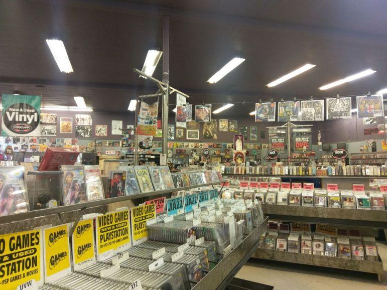 Streetlight Records in San Jose. (Photo by Linda N, via Yelp)
