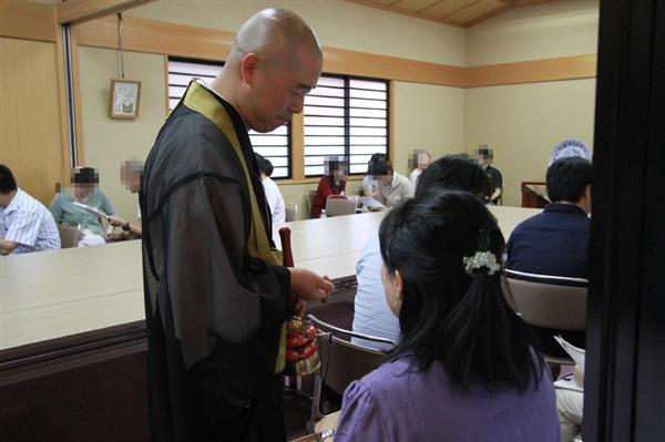 【トレンド日本】結婚したいなら寺で「寺コン」 僧侶の法話で ...