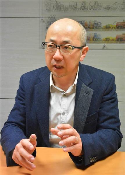 著作権法に詳しい弁護士の福井健策さん(本間英士撮影)