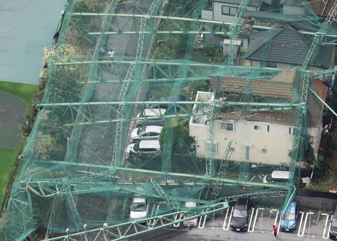 「台風 ゴルフ場」の画像検索結果