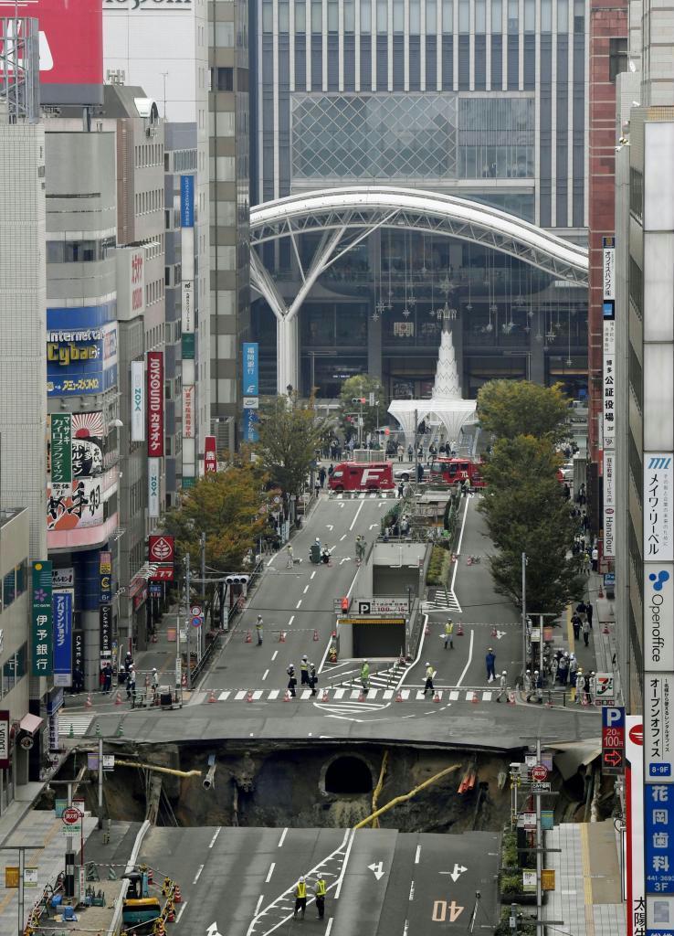 福岡陥沒事故3年 七隈線延伸遅れの影響大 市発展に深刻な損失 ...