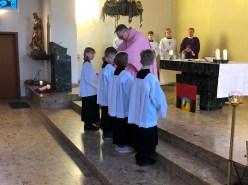 Einführung der neuen Messdiener St. Michael 15. Dezember 2019