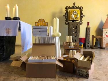 Kerzensegnung St. Michael 2020