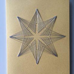 Nr 5 Stern gold-silber