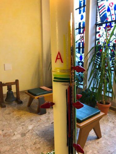 Osterkerze St. Michael 2021