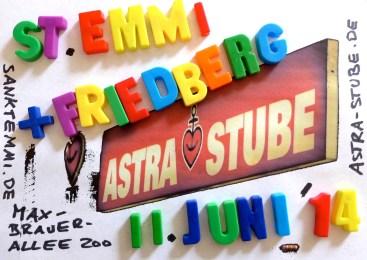 11.06.14 Hamburg, Astra-Stube