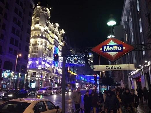 マドリード夜景2